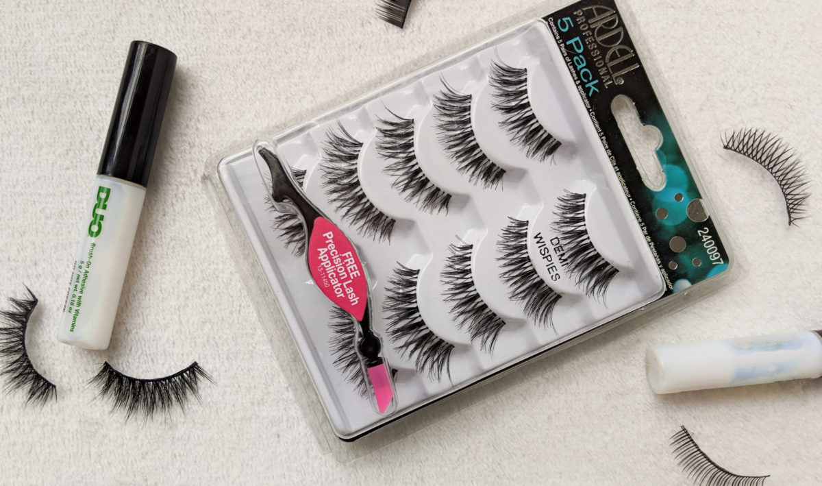 Best False Eyelashes for Beginners - Ardell Demi Wispies!
