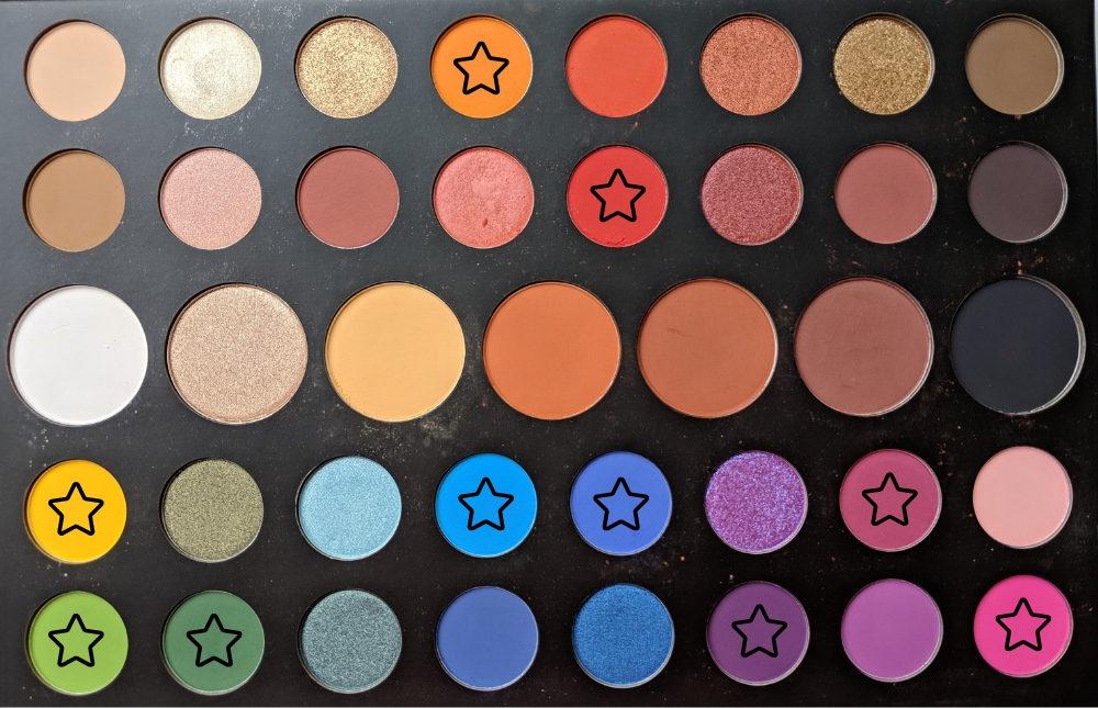 Rainbow Cut Crease Makeup Look James Charles X Morphe Eyeshadow