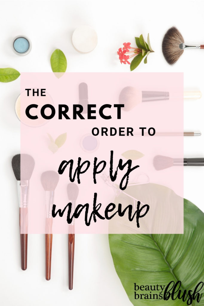 Do you know what the correct order to apply makeup is? Whether you're a teen or beginner that is just starting out with drugstore makeup basics, or an experienced makeup lover who only uses high end products, it is helpful to know all the different makeup steps you can take - and what order to take them in!
