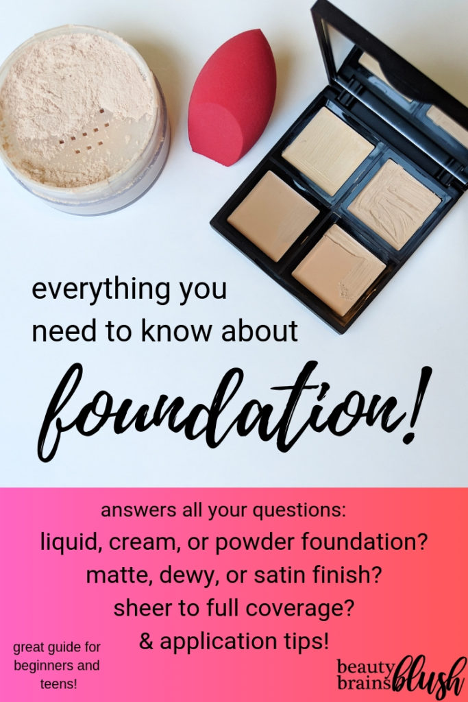 Ultimate Guide To Foundation Beautybrainsblush