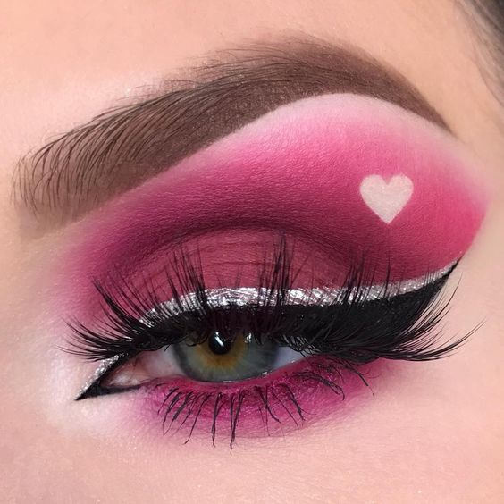 25+ Valentine's Day Makeup Look Ideas