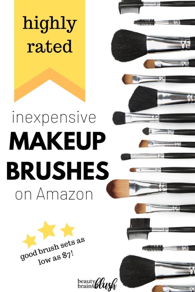 Best Rated Makeup Brushes on Amazon - BeautyBrainsBlush