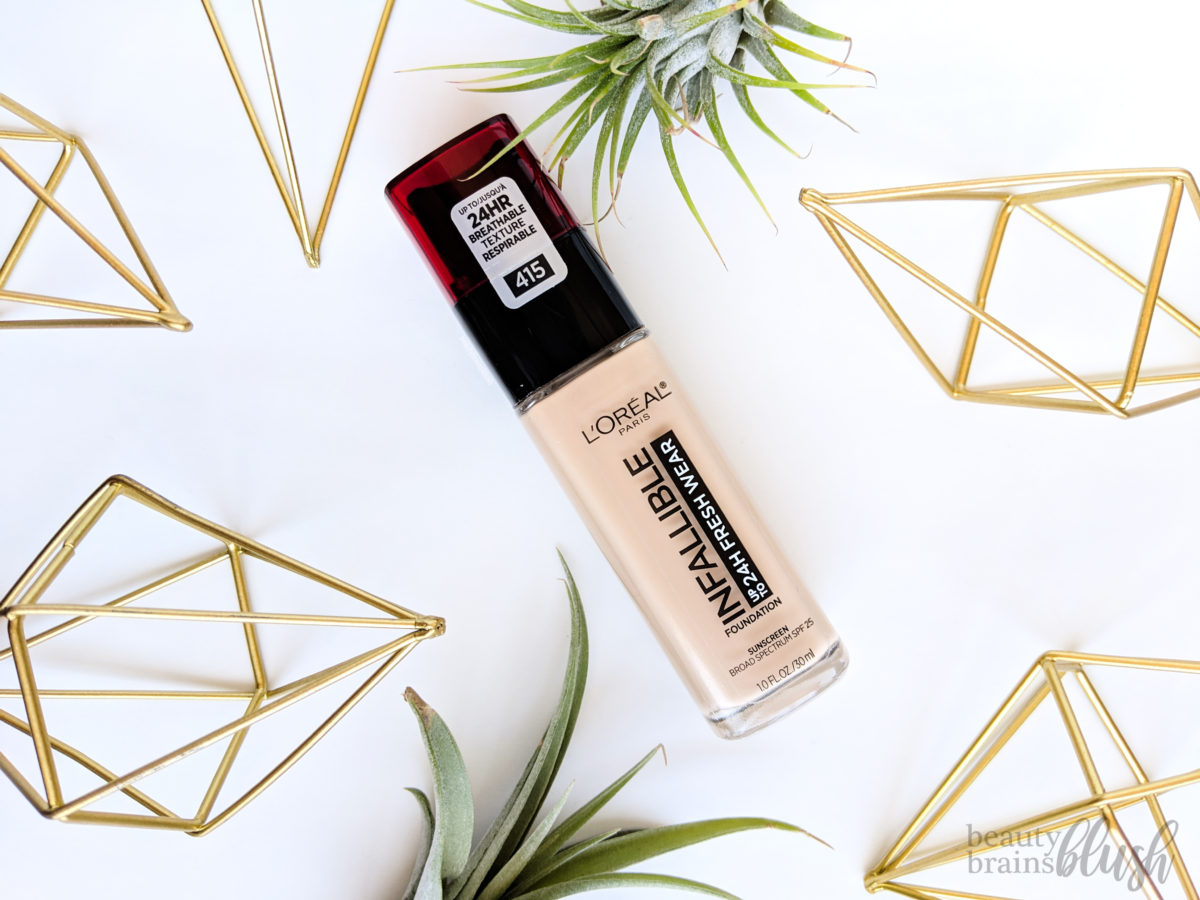 LOreal Infallible 24HR Fresh Wear Foundation Review