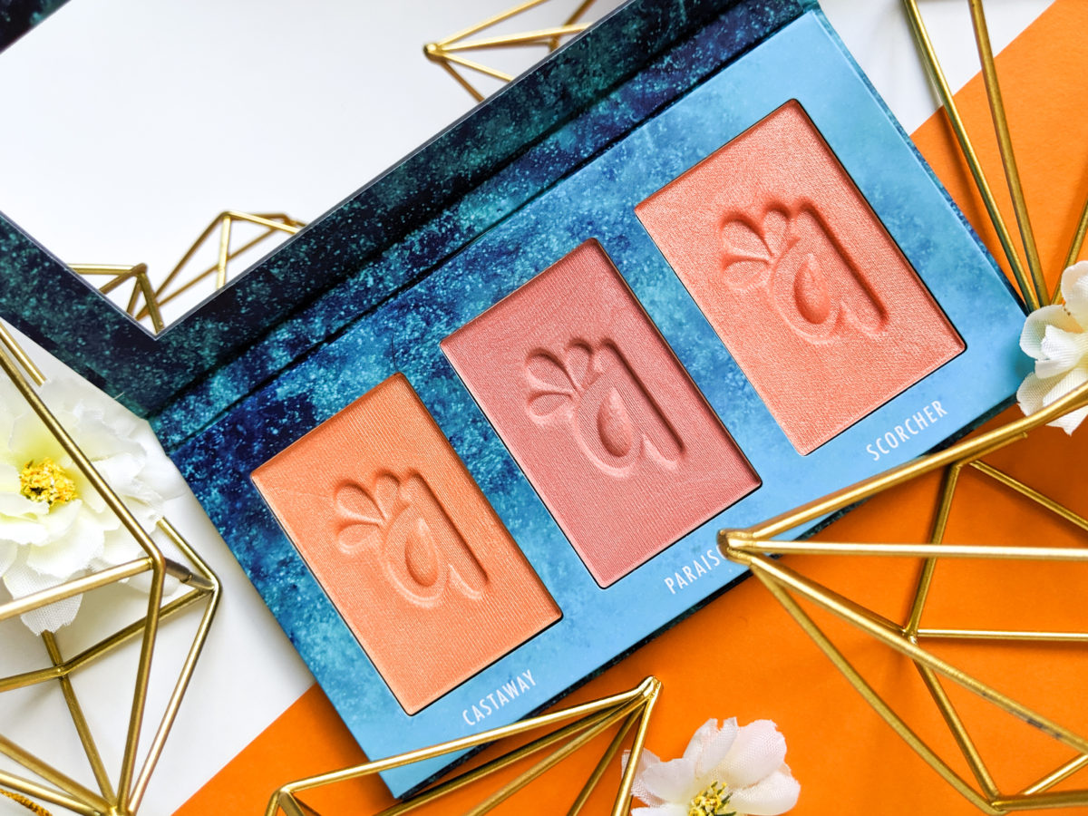 Alamar Cosmetics Colorette Blush Trio Review! There has been a lot of buzz about this blush palette lately, check it out.