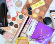 What's in my Summer Makeup Bag? Check out my summertime makeup essentials at BeautyBrainsBlush.com