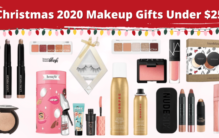 Christmas Makeup Gifts Under $25 BeautyBrainsBlush
